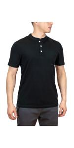 Merino Wool Henley Shirt