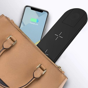 Wireless Charger 3in1 Compatible with Apple Watch amp; AirPods 2 amp; Pencil Charging Dock Station