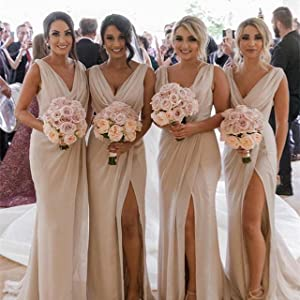 Flowy Chiffon Bridesmaid Dresses