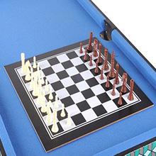 WIN.MAX Mesa de multijuegos 5 en 1, Canasta, Billar, ajedrez ...