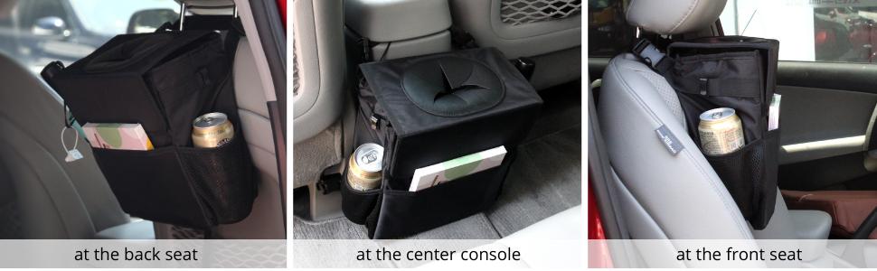car trash can for van
