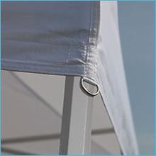 Ez pop up canopy Horizontal Velcros