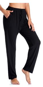 Black Stretch lounge pants