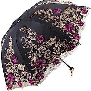 gothic black lace umbrella