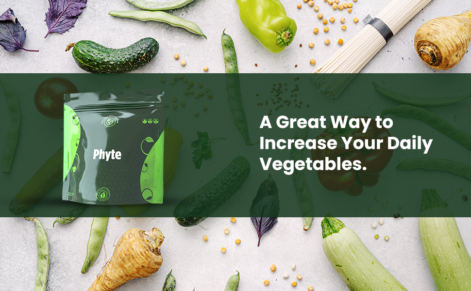 Increase Your Daily Vegetables