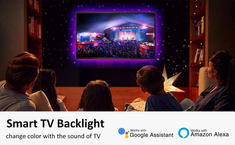 Smart TV Backlight