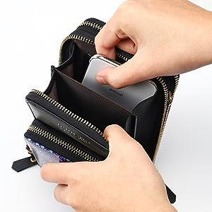 women cross-body bag RFID wallet large capacity purse ladies prime christmas aphisonuk shoulder bag