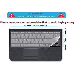 laptop keyboard protector skin