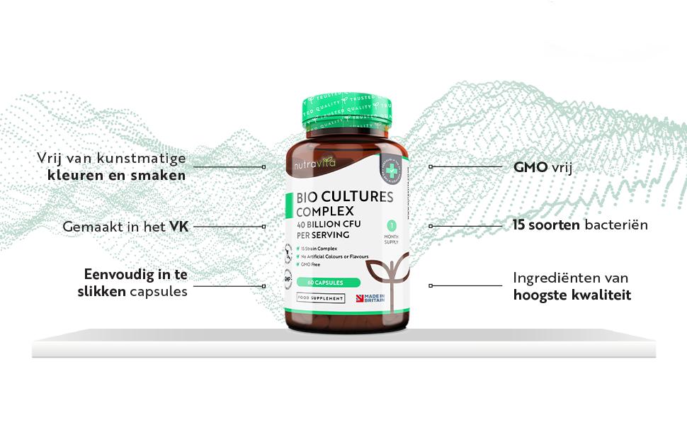 Bio Culturen Complex Probiotica