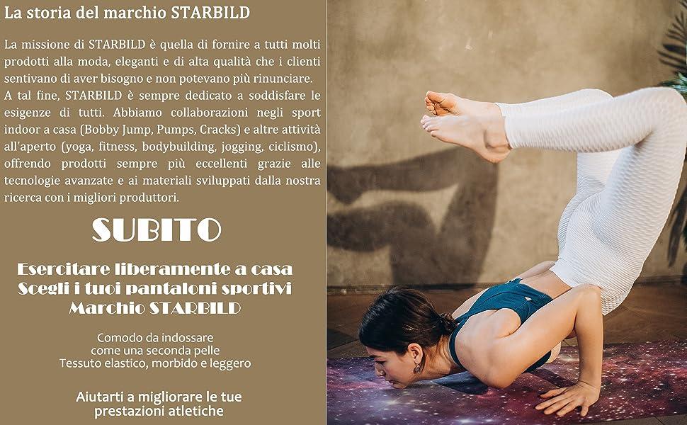 Leggings Fitness Donna Push Up Allenamento Opaco Vita Alta Yoga Palestra Leggins Sportivi Pantaloni