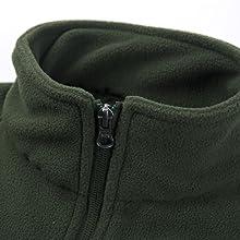 Stand Collar Fleece Coat Women