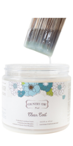 clear satin finish furniture sealant chalk paint top coat varnish