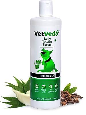 tick shampoo with dogs