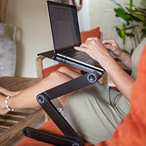 Laptop stand for recliner