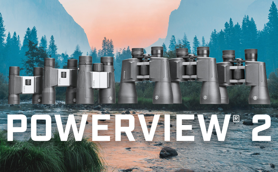 Bushnell Powerview 2 Binoculars product line
