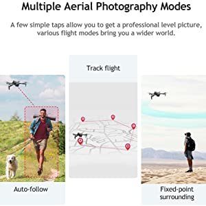 Drone with Follow Me Mode