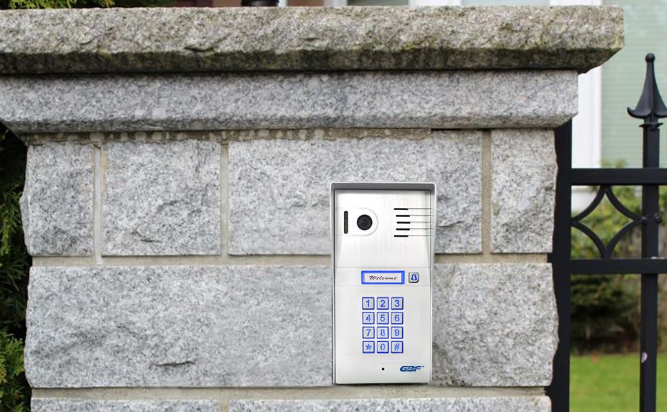 GBF wifi IP door station