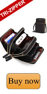 phone crossbody, bag gap touch screen waterproof leather crossbody phone bag,