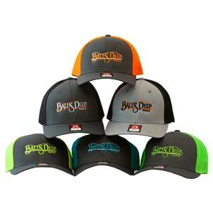 balls deep tackle hats collection fishign snapbacks