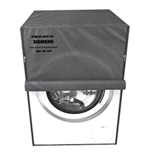 Siemens protective dust cover grey for washing machine dishwashers durable easy clean water-proof