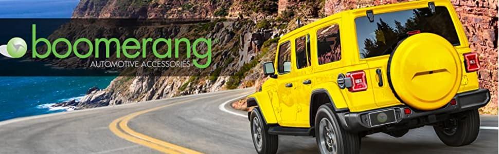 Boomerang Mud Track Jeep Wrangler JL Tire Cover