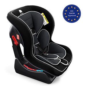 Grey Baby Car Seat Group 0+//1 Meinkind Child Car Seat for 0-1-2-3-4 Years Old 3 Recline Position and Car Seat Protector Included 0-18kg