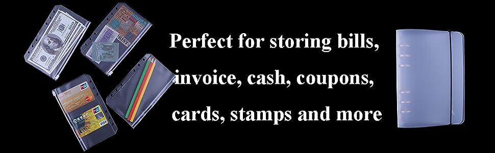 binder pockets