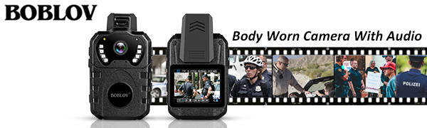 Body worn Camera With Audio