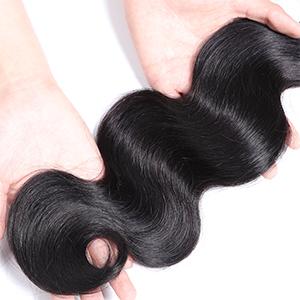 Genrein Brazilian Body Wave Human Hair Body Wave Bundles 100% Unprocessed Virgin Human Hair Weaves