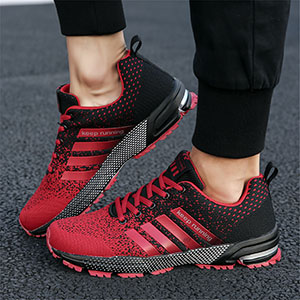 SANNAX Running Shoes for Mens Womens Walking Gym Training Shoes Fitness Jogging Athletic Casual Footwear Sneaker