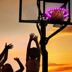 basketball light up rim