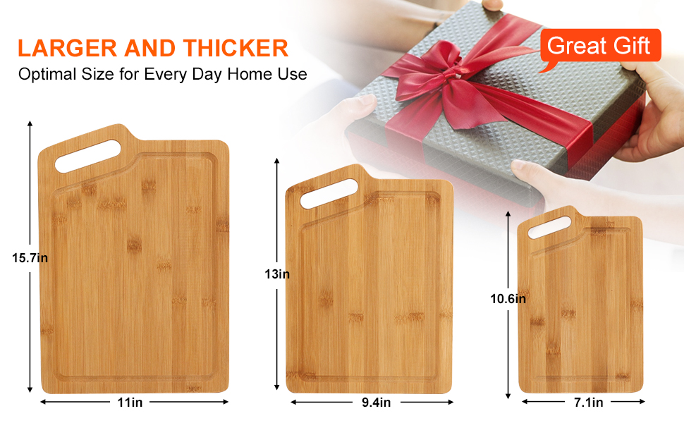 Cutting Board Dimensions as gift