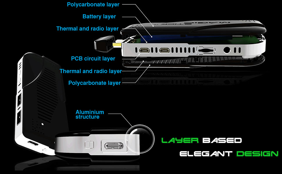 Magicstick Multiple layer design