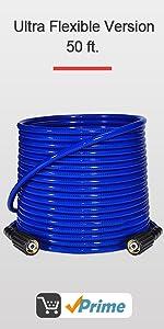 Ultra Flexible 3200 PSI 50 FT Pressure Washer hose
