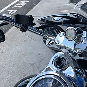 TFEN-BIKE METAL BARS HARLEY HONDA MOTORCYCLE PHONE MOUNT RAM IPHONE SAMSUNG ENDURO HEAVY DUTY