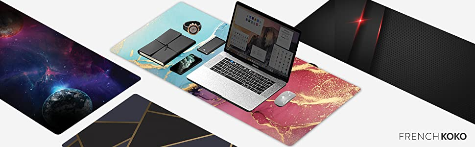 Gaming mousepad xxl desk pad deskpad oversized mouse pad mouse LED mat office extended pro gamer xl