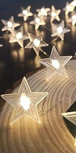 Twinkle Star Fairy String Lights