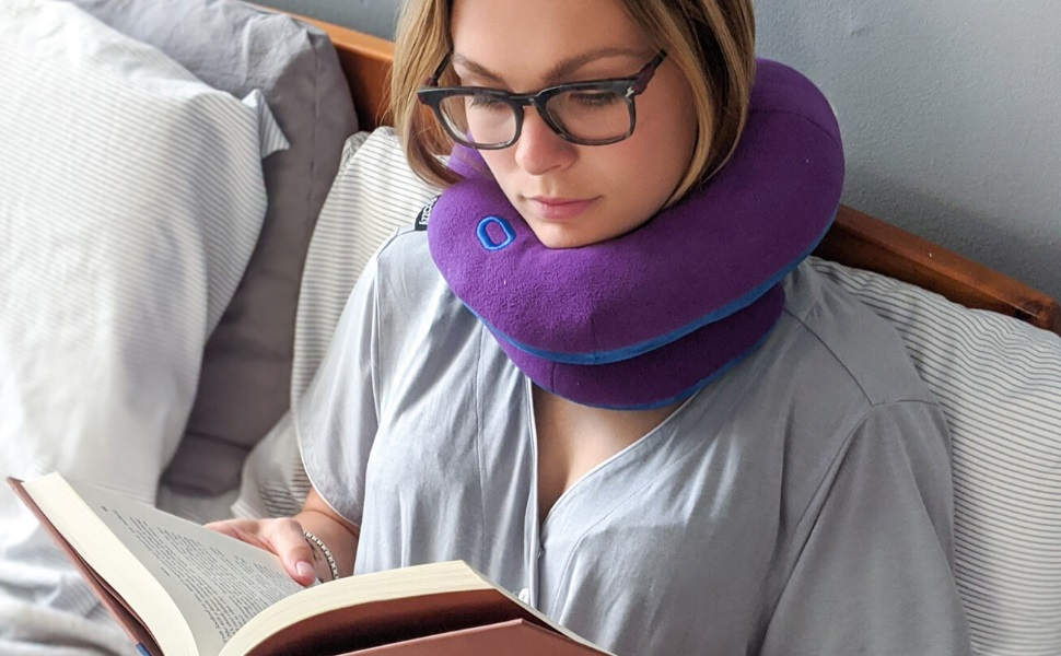 Eye Masks Busezy Inflatable Travel Neck Pillow Portable Travel Travel Aircraft Outdoor Camping Support Pillows Light Blue Tooula Earplugs