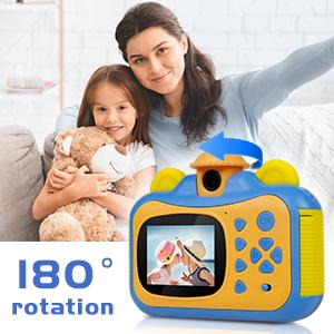 Kids Instant Print Camera