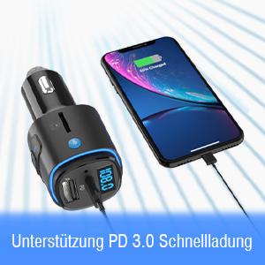 Bluetooth FM Transmitter Auto