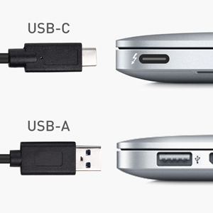 USB C Enclosure with USB-C and USB-A Cables Supporting RAID 1 and RAID 0 Cable Matters 10Gbps Aluminum Dual Bay 2.5 Inch External SSD Enclosure Thunderbolt 3 Port Compatible