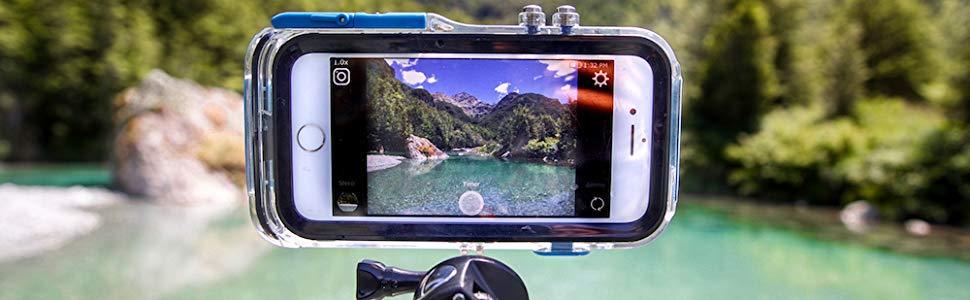 Pro Shot ProShot Coque étanche et montable GoPro pour iPhone X et Xs