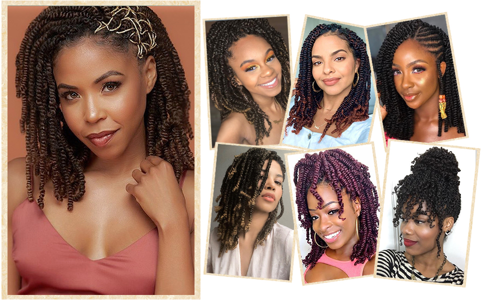 spring twists hair ombre