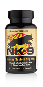 NK9 AHCC Immune Support for Pets
