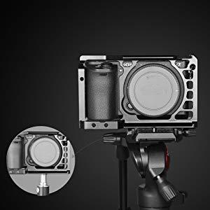 SmallRig Sony A6500/A6300専用ケージ ILCE 6500 4Kカメラケージ 軽量 取付便利 耐久性 耐食性-1889  専用ケージ: A6500/A6300