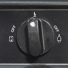 Smad Frigorífico de Absorción 40 litros 12/230V y Gas, Nevera ...