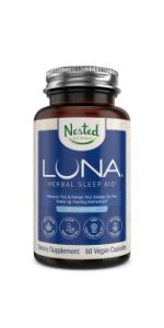 premium natural melatonin free sleep aid medicine adults insomnia relief supplement formula