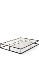 Zinus Joesph Industrial Black Steel Metal Bed Base Online Cheap