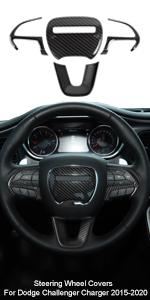 Steering Wheel Cover for Dodge
