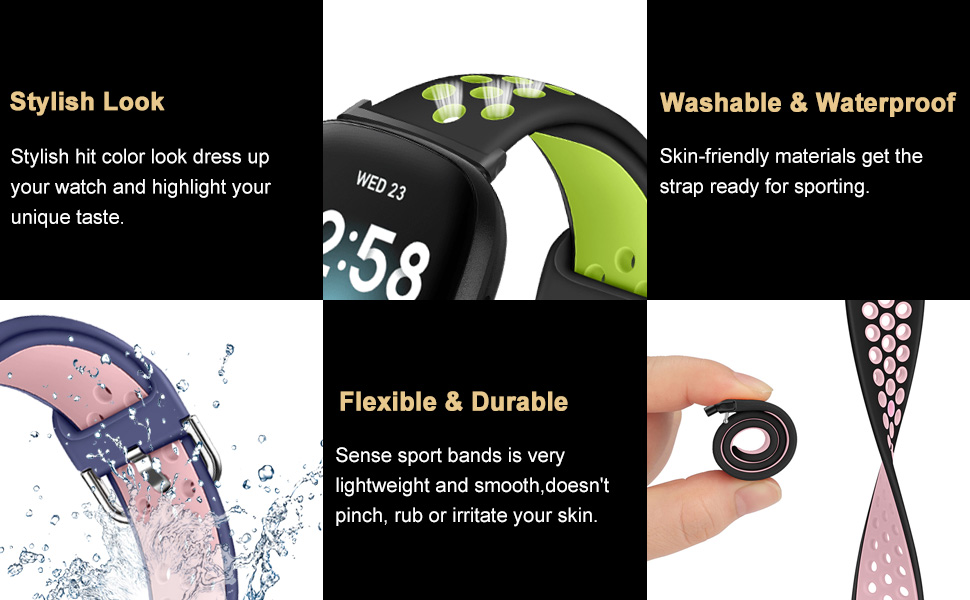 XIMU Versa 3/Sense watch strap